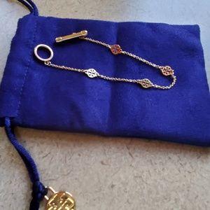 Tory Burch Gold Toggle Bracelet